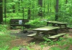 Mountain Get-Away Picnic Tables