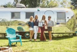 Asheville Glamping Airstream- Rosie The Riveted