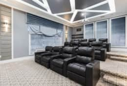 Exclusive Private Villas, 12 Bedroom Villa in Reunion Resort (E312) - Theatre Room 2