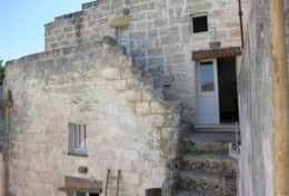 Pulcinella - outdoor staircase to first floor - Castiglione d'Otranto - Salento