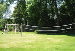 Beach House Volleyball Court