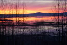 Early Spring Sunrise over Upper Klamath National Wildlife Refuge