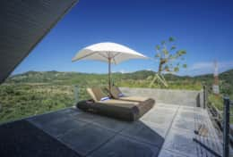 Heavenly Haven private terrace