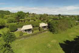 Aerial View from Rear Paddock
