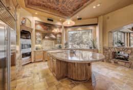 Gourmet kitchen with Sub-Zero and wolf appliances!