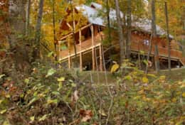 Ohio's best rental cabin in the fall
