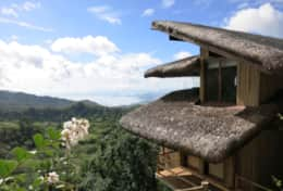 Narra Hill Kubo 2 Room Exterior with view of Taal