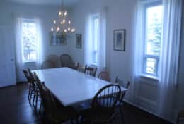 Dining room table without extensions