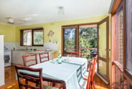 Dining In Bright Sunlight Yia Yia's House  Good House Holiday Rentals