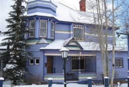 Main House In Winter