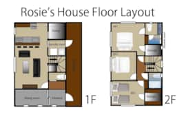 Rosies House Floor layout