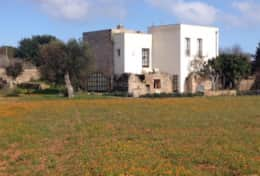 Cava - view of the house - Barbarano - Salento