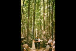 Forest amphitheatre ceremony