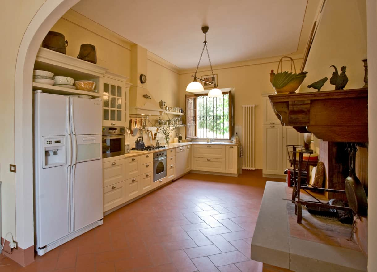 This luxurious kitchen is a chef's delight for serious culinary adventures.
