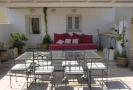 Goccia - furnished terrace on the roof - Tiggiano - Salento