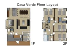 Casa Verde floor layout