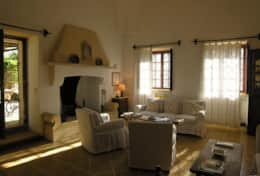 Masseria-della-Corte- open space sitting/dinind room/kitchen - Depressa di Tricase - Salento