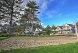 Olivia Beach Community Sand Volleyball Court and Firepit
