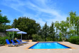 Villa Vaggelio, private pool